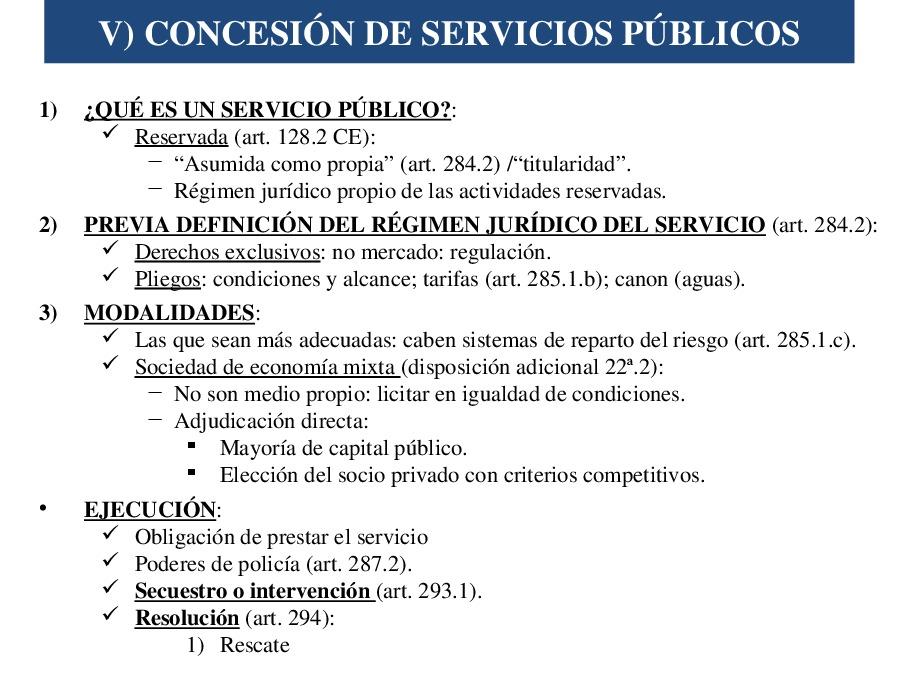 Contrato de concesión de servizos e contrato de prestación de servizos aos cidadáns